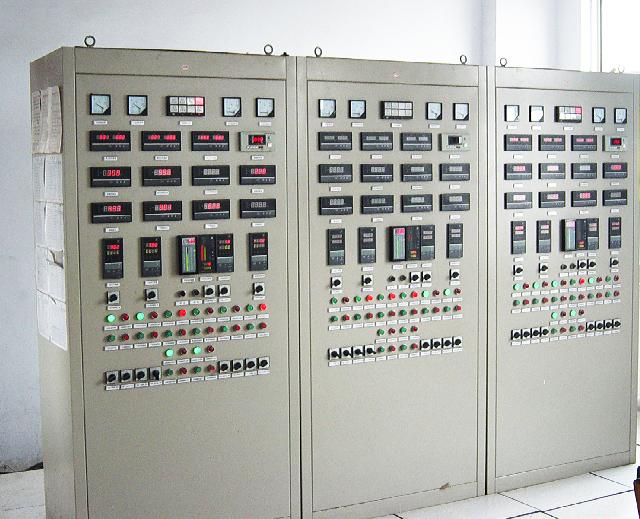 PLC控制柜展示