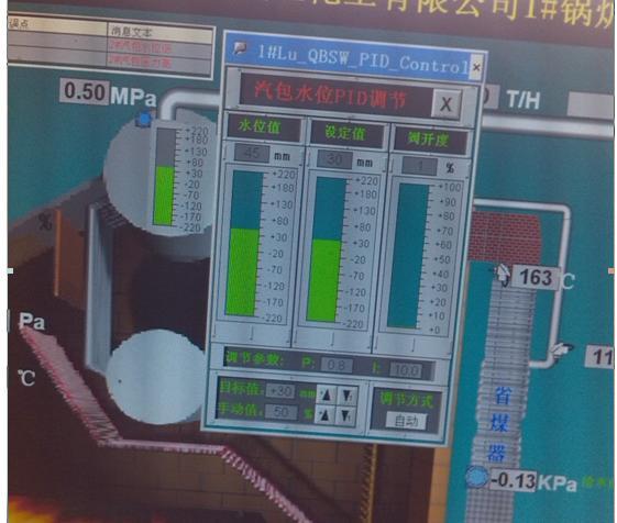 链条炉控制系统